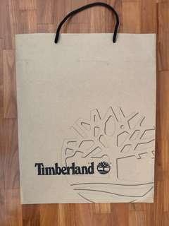 Timberland paper bag