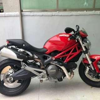 Ducati monster 696 杜卡迪 可貼錢換偉士牌 MSX gogoro