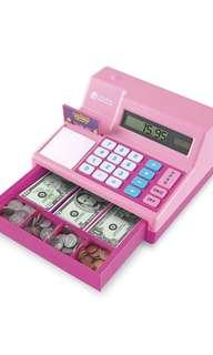 🚚 Learning Resources Pretend & Play Cash Register Assorted Pink Playset, Pink,