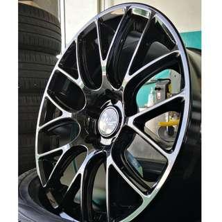"Rays G16 18"" Gloss Black 5X114.3 (REP)"