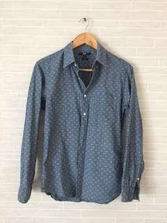 Almost New Mens UNIQLO Slim Fit Shirt