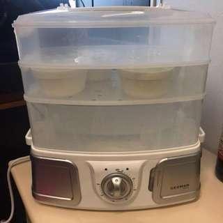 德國寶 餐盒式多層電蒸鍋 蒸爐