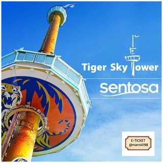 Tiger Sky Tower Eticket