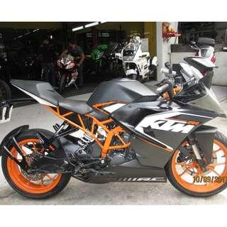 KTM RC200 2015 D/P $500 or $0 With out insurance (Terms and conditions apply. Pls call 67468582 De Xing Motor Pte Ltd Blk 3006 Ubi Road 1 #01-356 S 408700.