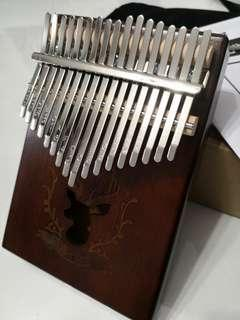 Cheapest deer design Kalimba 17 keys with note
