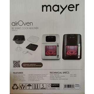 BNIB Mayer Air Oven (White)
