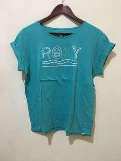 #bersihbersih Kaos Roxy