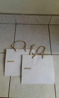 Seiko paper bag