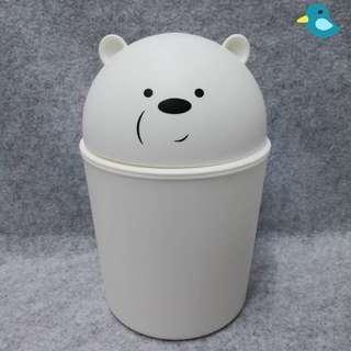"We Bare Bears "" Ice Bear "" Dustbin"