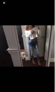 Fashion Nova Jeans BNWT size 0