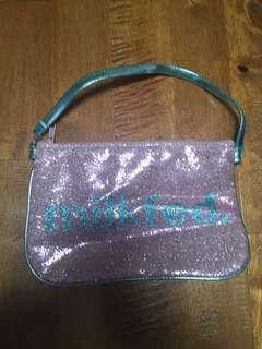 small sequin bag