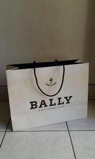BALLY paper bag