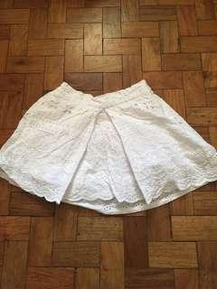 Gingersnaps White Skirt