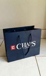 Chaps paper bag