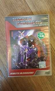 Transformers The Movie DVD Original