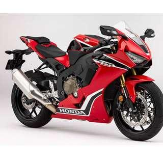 Honda CBR1000RR Bro Pls come down to De Xing Motor Pte Ltd., we will give you the best quote and any information you need.	 Blk 3006 Ubi Road 1 #01-356 S{408700}  TEL:67468582 De Xing Motor Pte Ltd