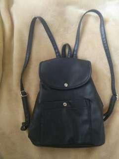 Parisian Mini Backpack - Black
