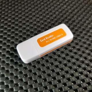 Mini Card Reader USB 2.0