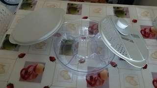 沙律容器(有刨絲/切片)