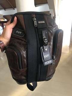 Tumi Alpha Leather
