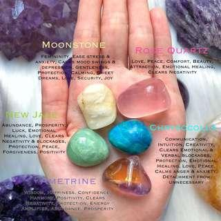 Faerie Healing Crystal Bag