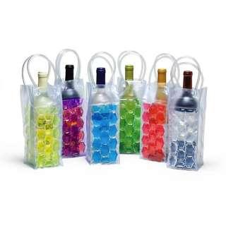Insulated Gel Ice Bottle Cool Bag Picnic Drinks Carrier