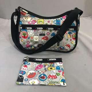 Lesportsac with pouch