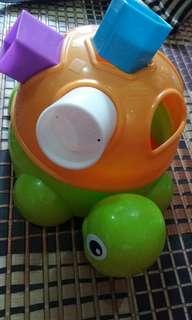 Playskool turtle shape sorter