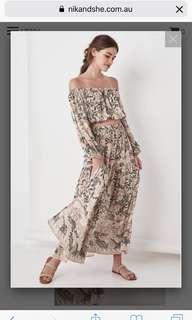 Spell Oasis Maxi Skirt