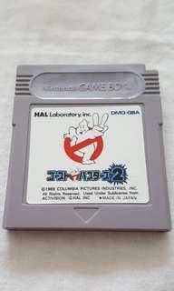 《原廠、正貨,日本制》Nintendo GameBoy, Gameboy Advance Game 附有膠盒和說明書。   GhostBusters 2 捉鬼敢死隊2。任天堂GameBoy超級好玩、經典之作。   所有遊戲會現場試機! All game will test when you buy.   100% 原裝日本製造 🇯🇵