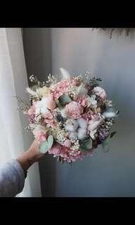 新娘保鮮花花球
