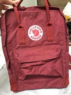 Fjällräven Kånken backpack red