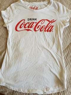 Coca cola tshirt white