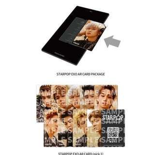 Exo AR Card Photocard Preorder