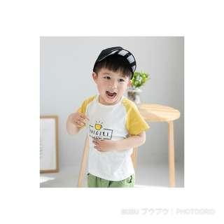 🚚 韓版夏季幼童清新短袖上衣