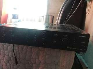PA system ..yamaha .still new