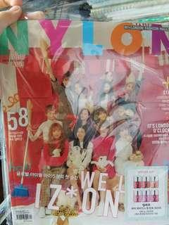 izone nylon magazine