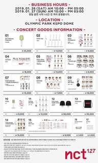 [ON HOLD] NCT 127 Neo City: Seoul - The Origin Goods nct nct127