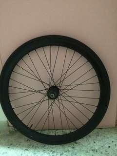 WTS fixie rear wheel
