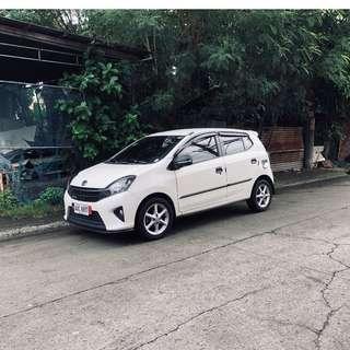 Toyota Wigo G White 2014