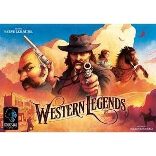 Western Legends with 2 expansion (Kickstarter)