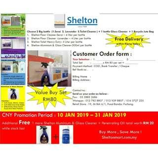 Shelton Promotion Cleaning Detergent CNY!