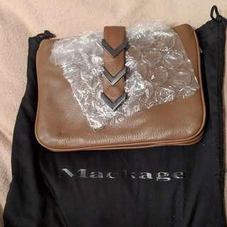 MACKAGE leather cross-body purse