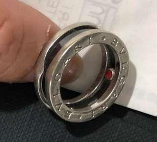Bvlgari Silver Ring - Save The Children Size 49