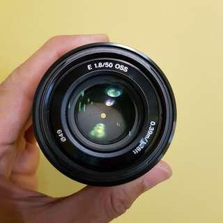 Sony 50mm f1.8 OSS