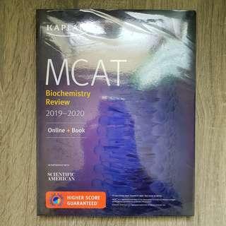 MCAT Biochemistry Review 2019-2020 (Kaplan)