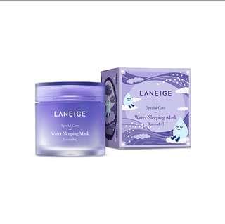 Lavender Laneige Water Sleeping Mask 70ml