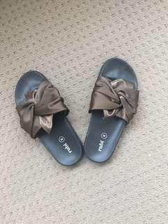Slides - Green - Rubi Shoes (Size 38)