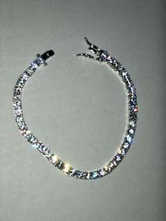 Icy tennis bracelet cz tennis bracelet hip hop bracelet accessories