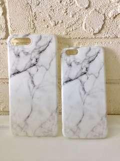 iPhone 6/6S/7/7S/7plus phone casings - Marble Design